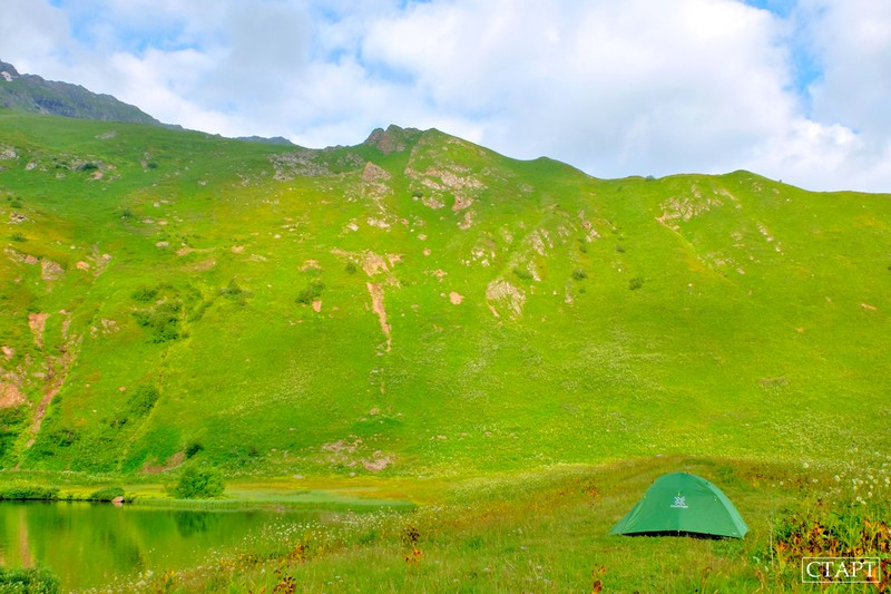 Озеро Любви в Архызе как попасть