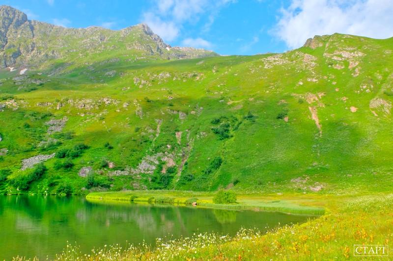 Озеро в форме сердца Архыз маршрут карта как добраться