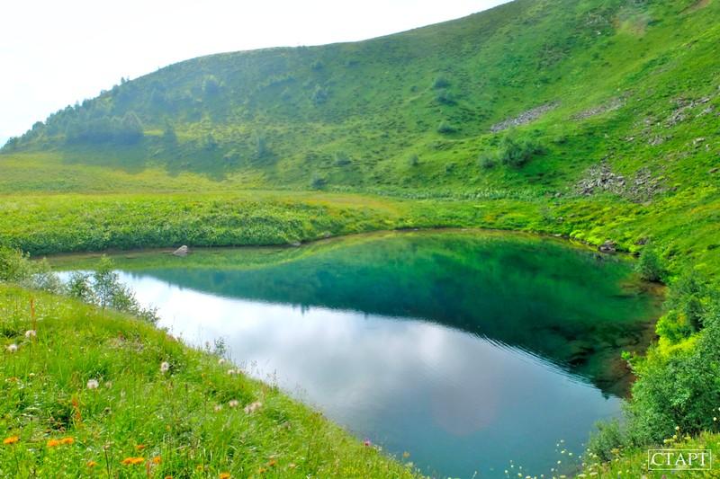 Озеро Любви Архыз фото