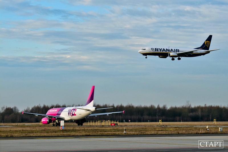 Вильнюс: дешевые рейсы WizzAir и RyanAir и «нестеровский» поезд