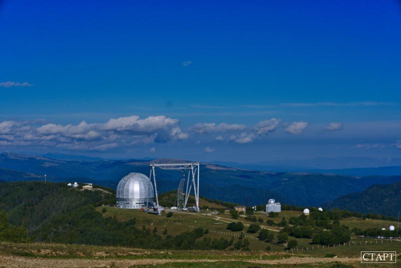 Большой Телескоп Азимутальный в Архызе