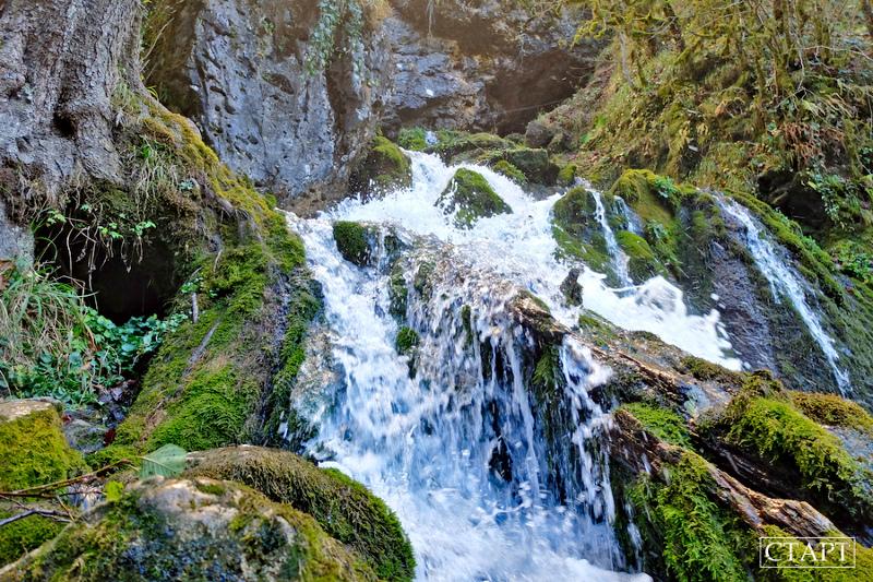 Что посмотреть в Мезмае: водопад Исиченко. Маршрут, фото, карта