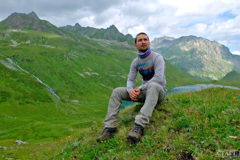 Гид в горах Архыза
