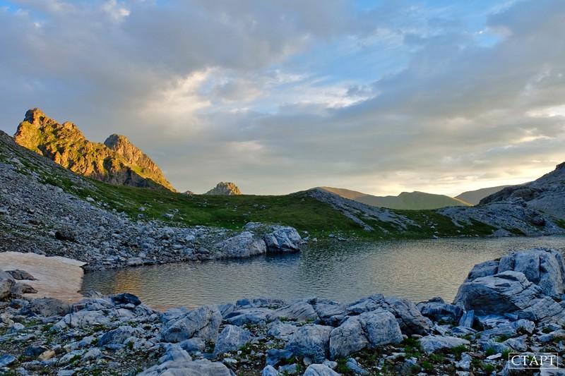 Походы на озера Абишира-Ахуба