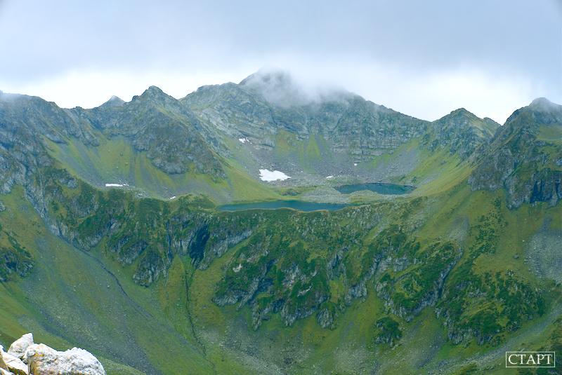 Загеданские озёра и перевал Загеданских озёр