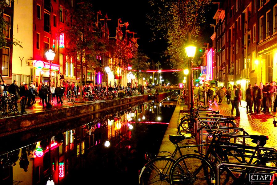 Квартал Красных Фонарей Амстердама: сколько стоит, что знать, когда идти