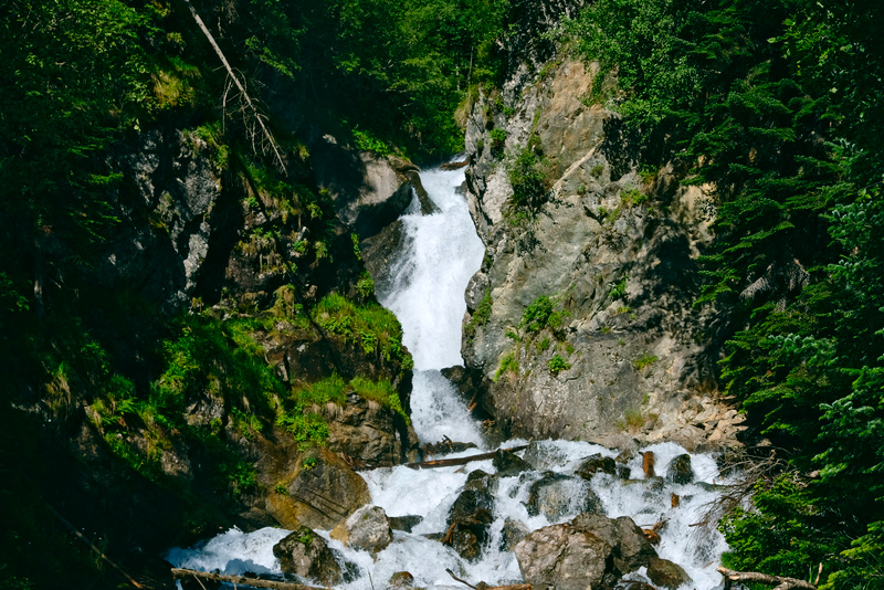 Водопад на реке Белой в Архызе как добраться