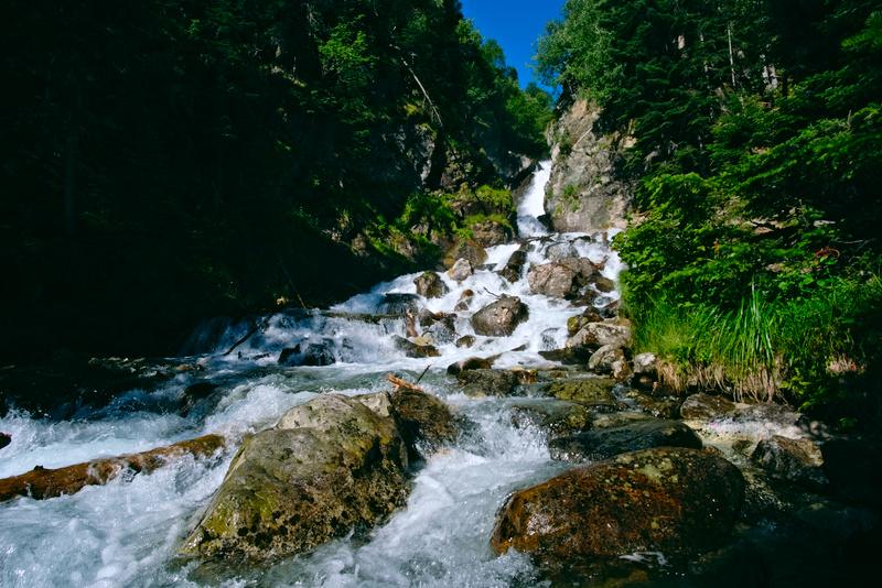 Водопад на реке Белой в Архызе маршрут и карта