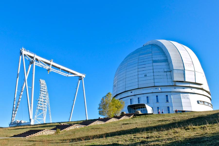 БТА Большой Телескоп Азимутальный в Архызе