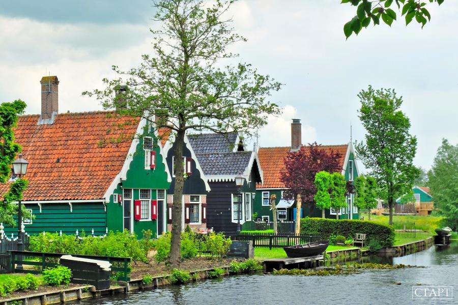 Экскурсии из Амстердама: как посетить Эдам, Маркен и Волендам?