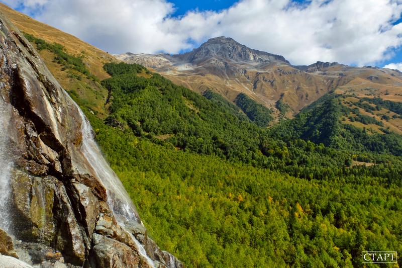 Алибекский водопад в Домбае: маршрут, фото, как добраться