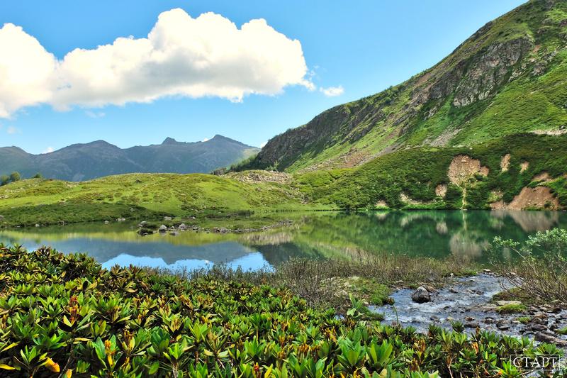 Фото озера Айматлы-Джагалы-Кёль в Архызе