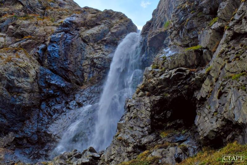 Суфруджинский водопад в Домбае: маршрут, фото, как добраться