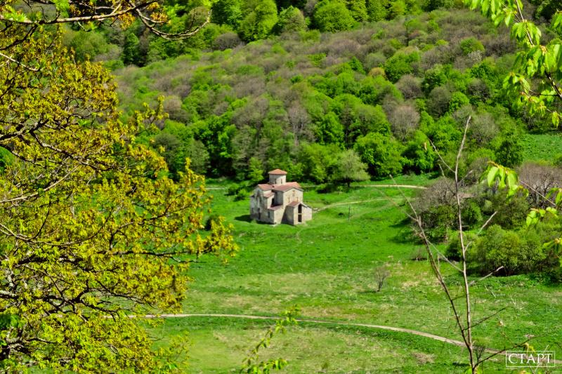 Лик Христа и Нижнеархызские храмы маршрут фото как добраться