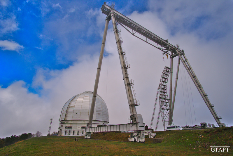 Обсерватория БТА в Архызе