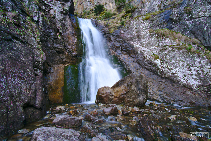 Водопад Шумка в Домбае