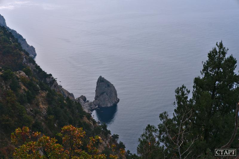 Скала Носорог Крым