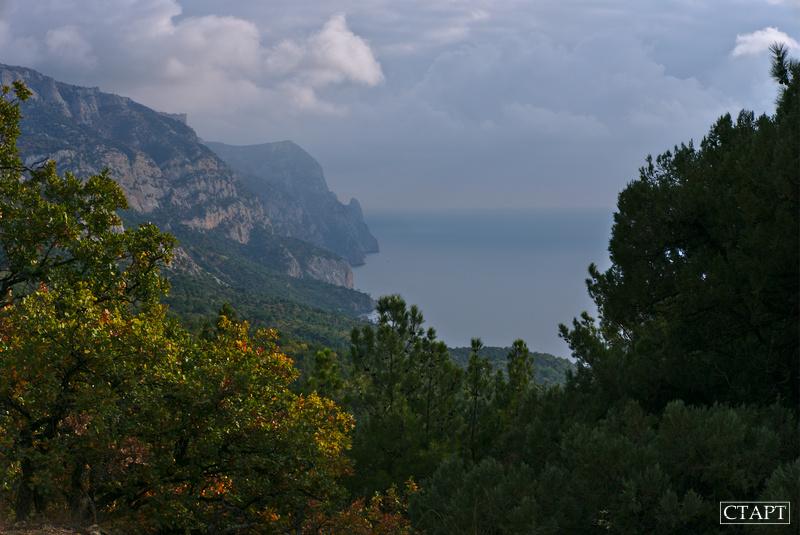 Панорама побережья Крыма