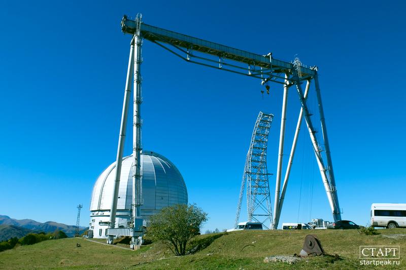 Большой Телескоп Азимутальный, Архыз