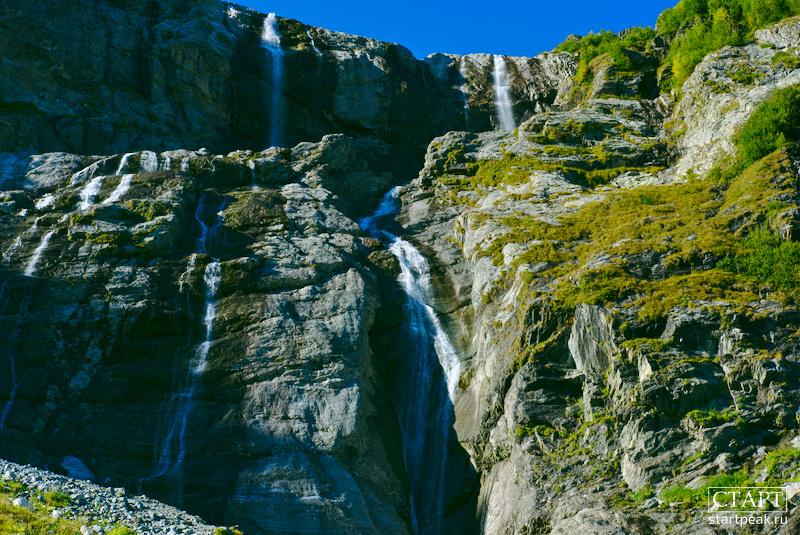 Экскурсии на Софийские водопады в Архызе