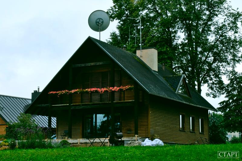 Новые дома в Тракае Литва