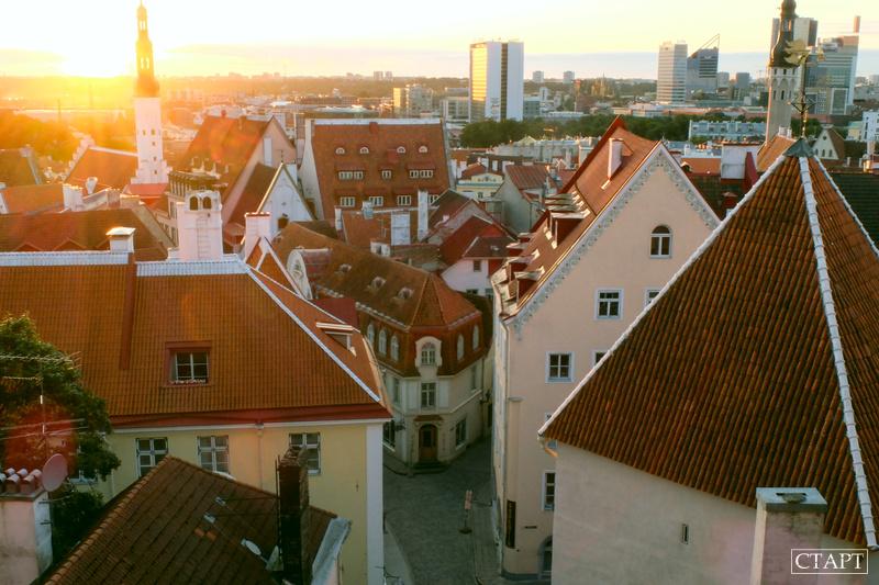 Рассвет в Таллине