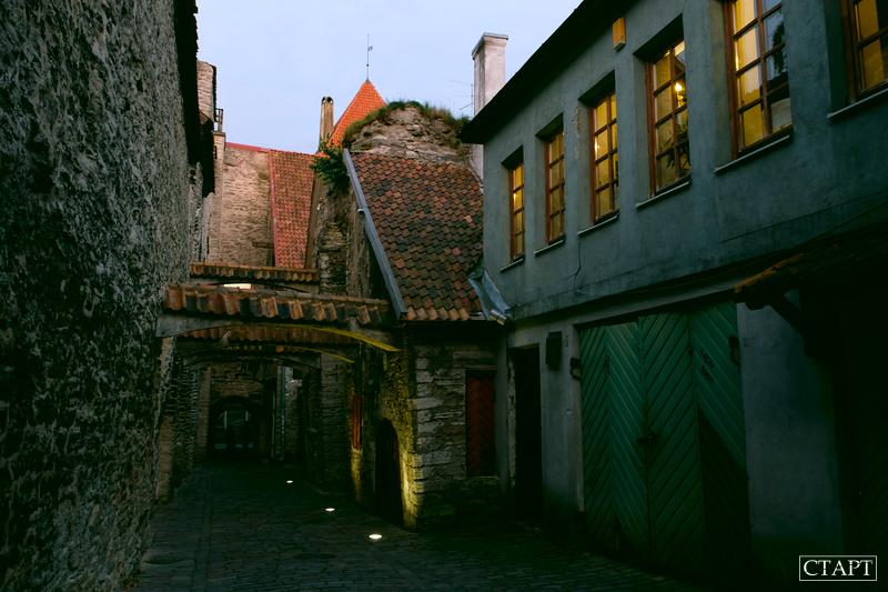 Переулок Катарины в Таллине