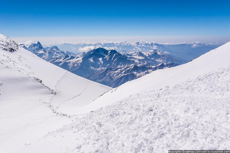 Вершина Эльбруса как попасть