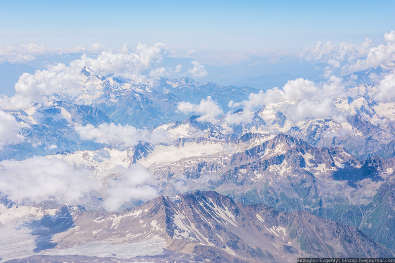 Фото с вершины Эльбруса