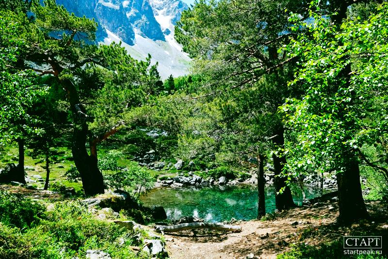 Секретное озеро в Архызе как пройти