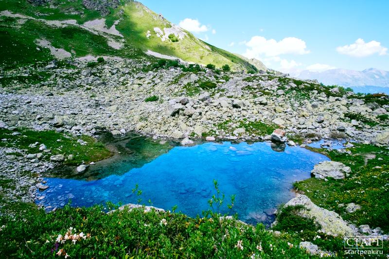 Маршрут к озеру Орлёнок в Архызе
