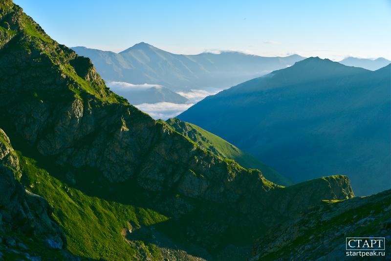 Утренний туман в Архызе