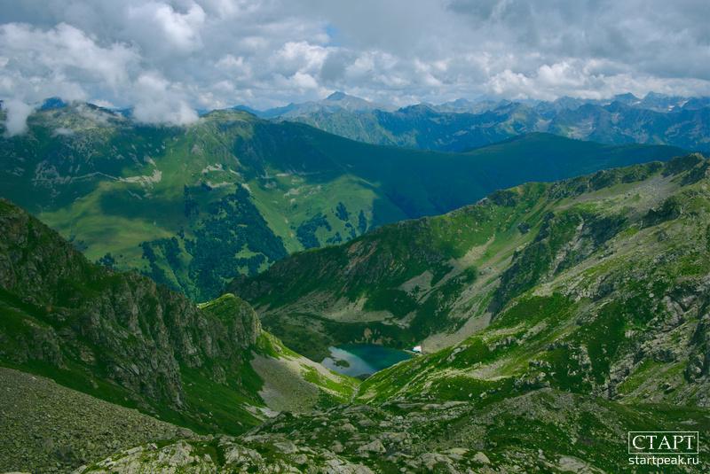 Озеро Айматлы-Джагалы-Кёль