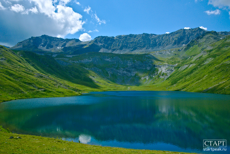Озеро Кяфарь Архыз