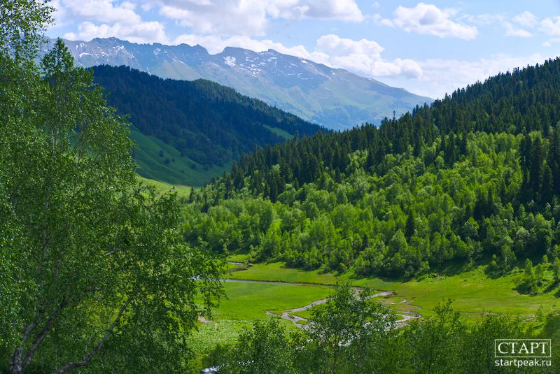 Ущелье Малой Дукки и Дуккинские озёра