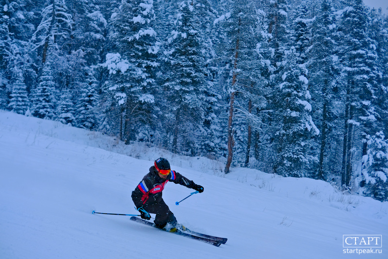 Карвинг на лыжах научиться