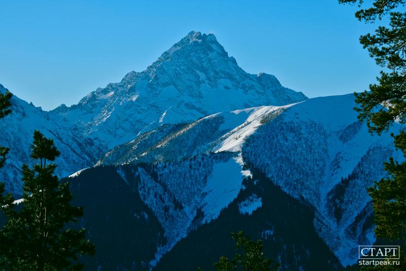 Гора Пшиш в Архызе