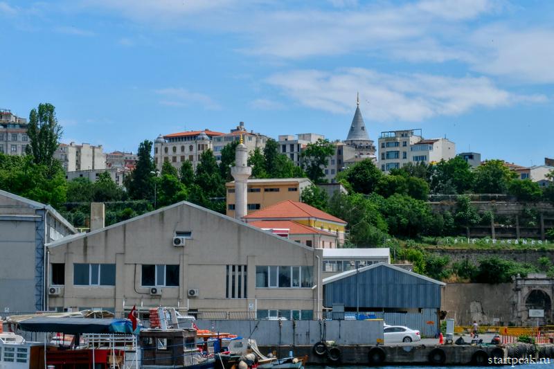 Вид на Стамбул с воды