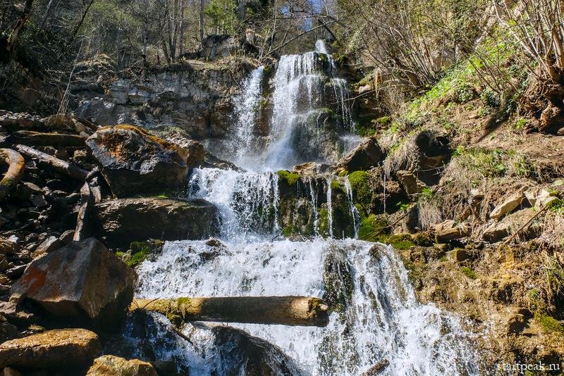 Лунные водопады в Мезмае как добраться