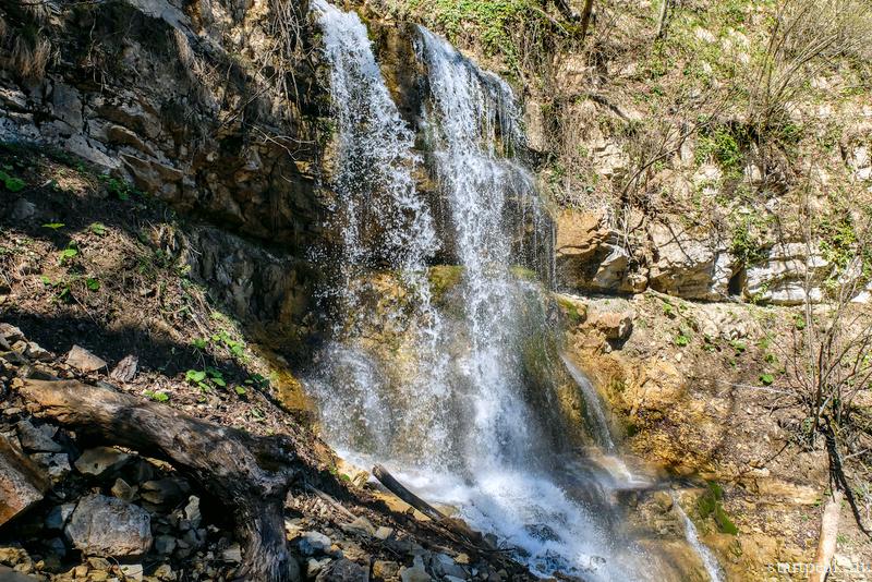 Лунные водопады в Мезмае маршрут как добраться