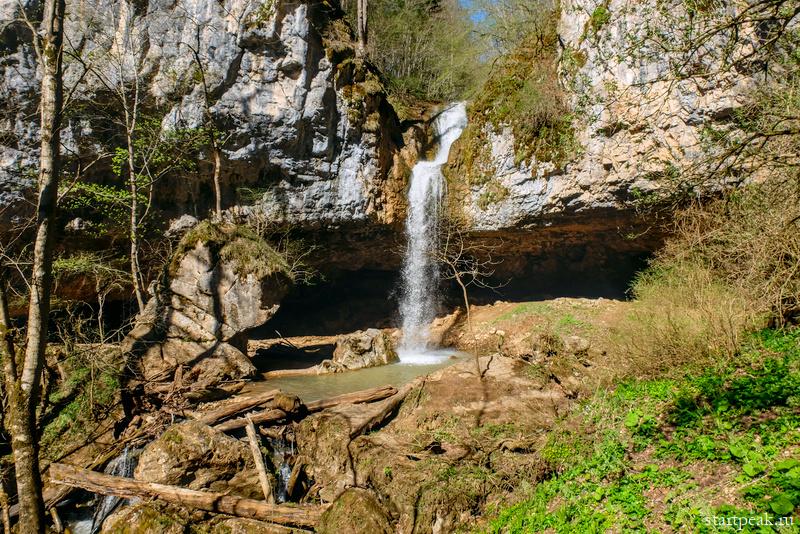 Чинарский и Университетский водопады в Мезмае: маршрут, фото, как добраться