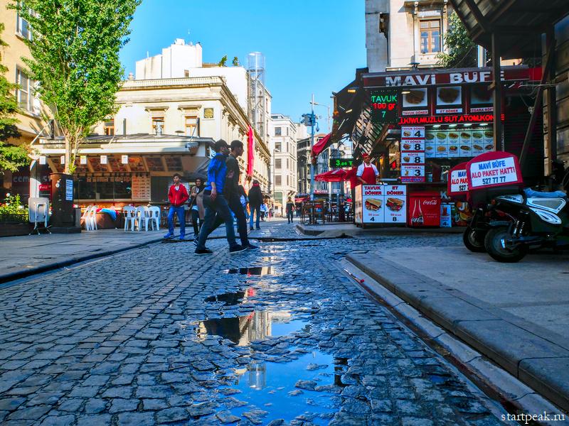 Улочка в старом Стамбуле