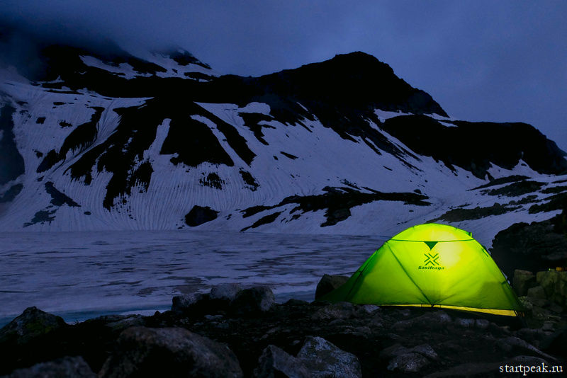 Когда в Архызе начинается сезон походов с палатками