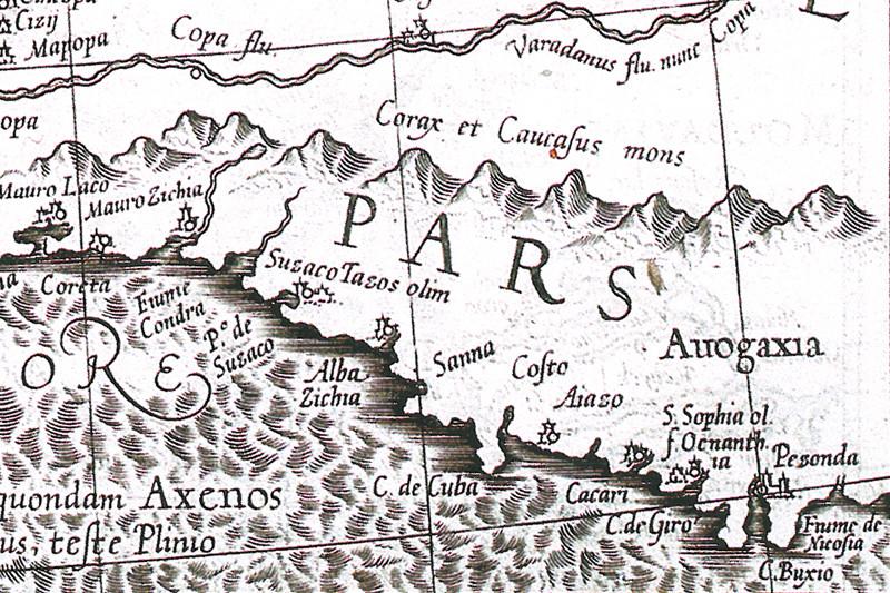 Генуэзская карта черноморского побережья