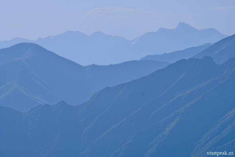 Теберда-Архыз поход с палатками