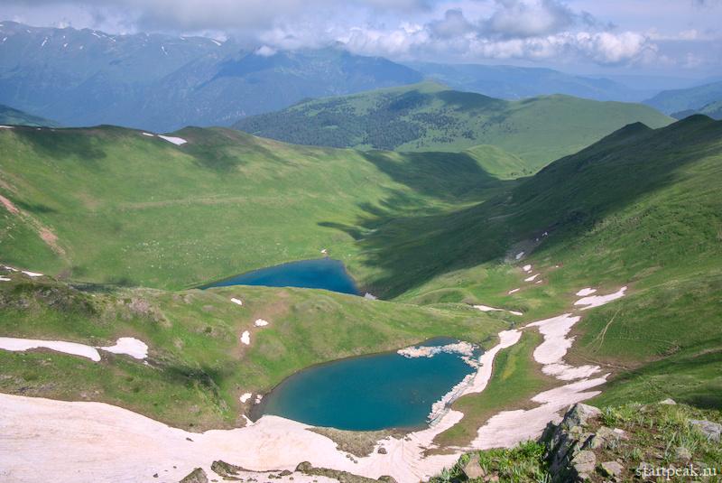 Высокогорные озёра в Архызе поход