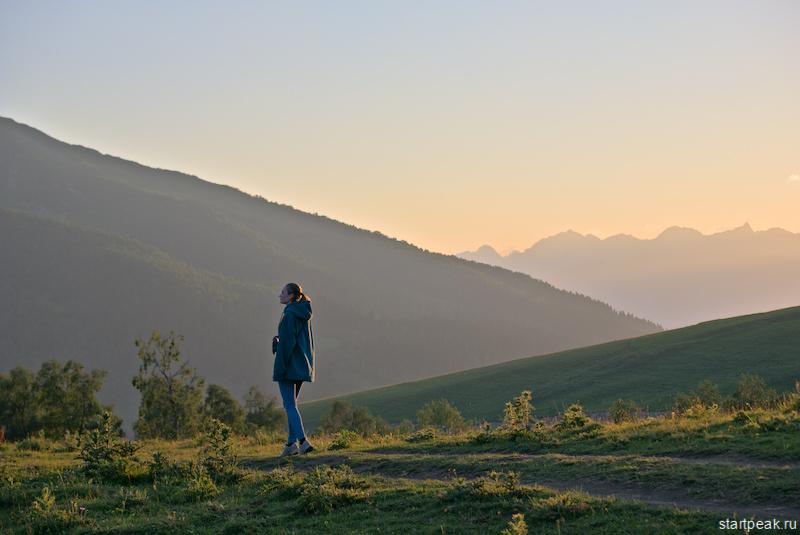 Перевал Пхия в Архызе