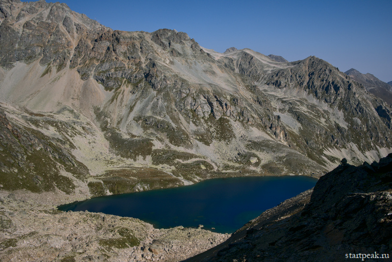 Озеро Уллу-Кёль в Карачаево-Черкесии с палатками