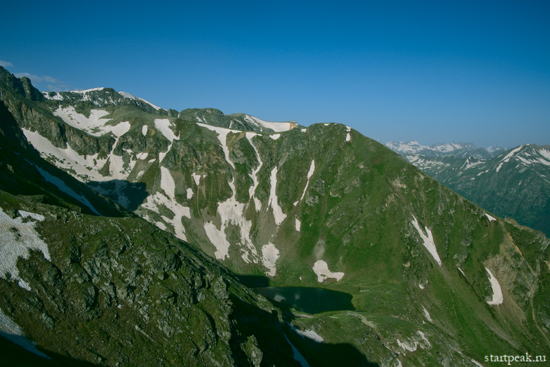 Горные озёра между Тебердой и Архызом