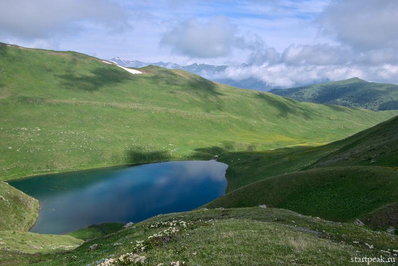 Озера плато Морх-Сырты